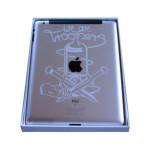 Laser engraved iPad